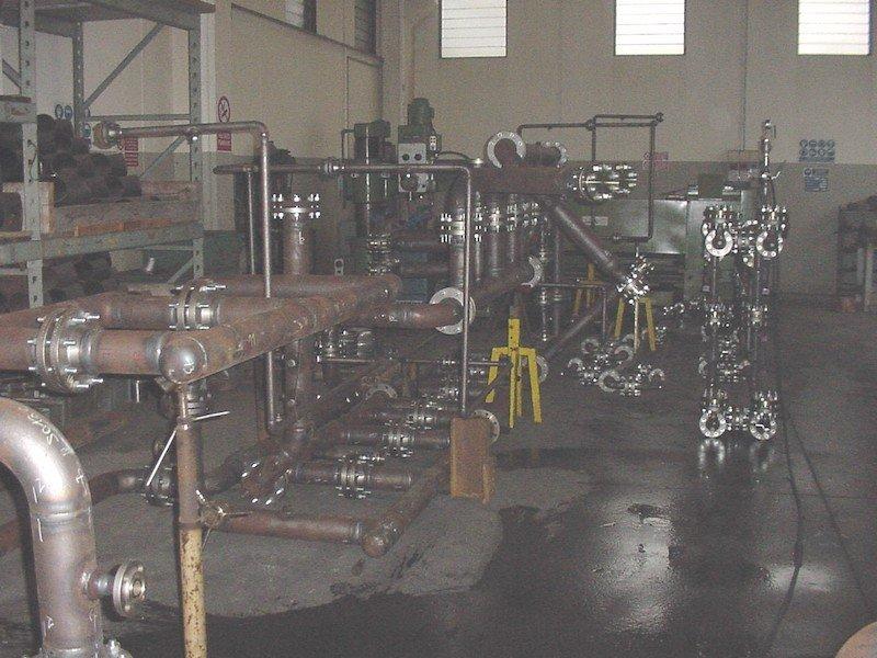 Controlli Collaudi e Montaggi Tubazione Caldereria- TCMI Bondeno - Collaudo Idraulico Tubazioni Piping -4