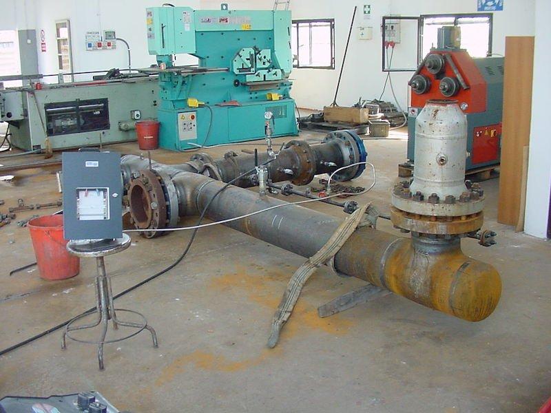 Controlli Collaudi e Montaggi Tubazione Caldereria- TCMI Bondeno - Collaudo Idraulico Tubazioni