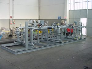 Montaggio su Skid - Impianti di riduzione Gas metano-1- TCMI Bondeno Ferrara