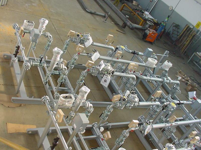 Montaggio su Skid - Impianti di riduzione Gas metano- TCMI Bondeno Ferrara