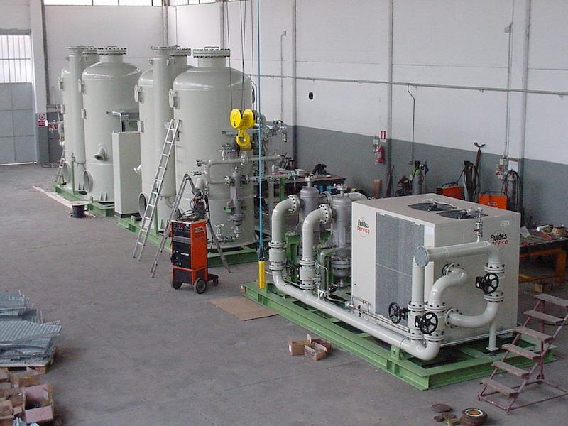 Montaggio su Skid - Impianti idrogeno- TCMI Bondeno Ferrara