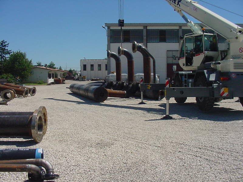 Piping - Tubazioni per Impianto gas metano-Piping Impianti GAS - TCMI Officine Bondeno - 5
