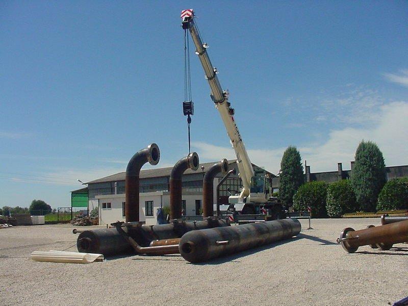 Piping - Tubazioni per Impianto gas metano snam - Piping Impianti GAS - TCMI Officine Bondeno - 4