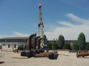 Piping - Tubazioni per Impianto gas metano snam- Piping Impianti GAS - TCMI Officine Bondeno - 5