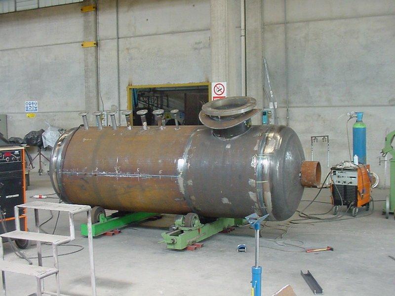 Produzione Serbatoi- Caldareria - Condensate tank - TCMI Bondeno Ferrara