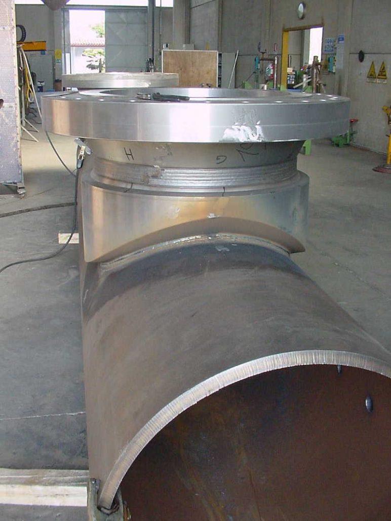 lavorazione officina Pezzi Speciali - Piping Impianti GAS - TCMI Officine Bondeno -