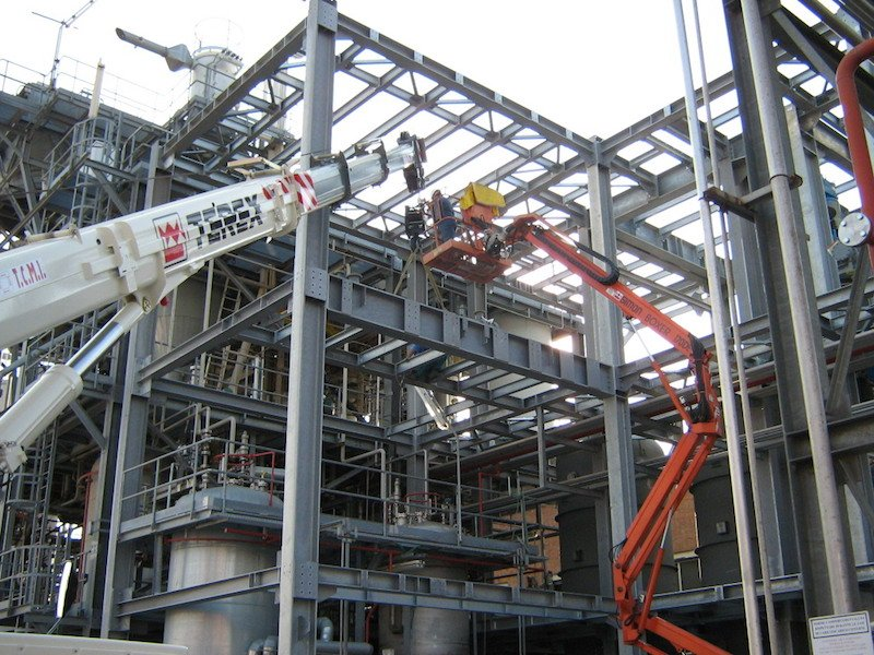 Manutenzione Impianti e Revamping Impianti chimici e Petrolchimici- TCMI Officine - Ferrara-1